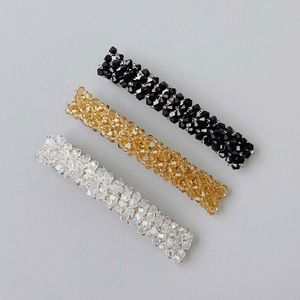 Accessories - NWOT beaded hair clip set.